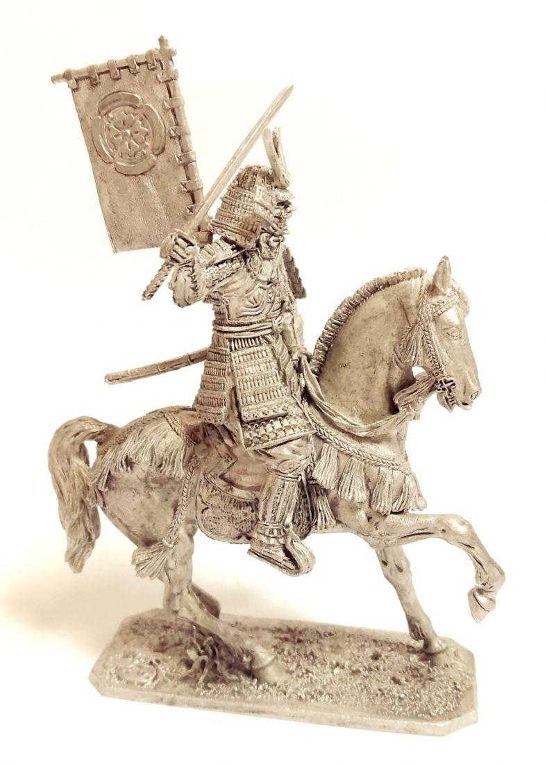 Фигурка Конный самурай 16-17 в.  олово