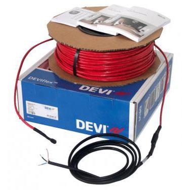 DEVIflex 18T 920 / 1005 Вт, длина 54 м, обогрев 5,0-7,0м2