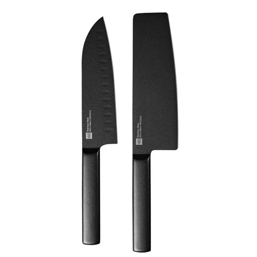 Набор ножей Xiaomi Huo Hou Black Heat Knife Set 2 шт