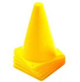 Конус спортивный для разметки 18 см желтый