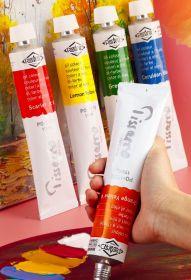 Краска масляная Piccasso для художников 170 мл красный scarlett
