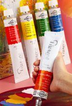 Краска масляная Pissarro для художников 170 мл Raw Sienna - Сиена натуральная