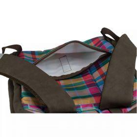 Рюкзак-сумка, разноцветный, 39 x 28 x 11 см