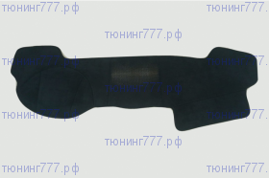 Накидка-коврик на торпедо, SIM, 5 цветов замши