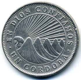 Никарагуа 1 кордоба 1972