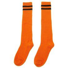 Гетры футбольные юношеские цвет Оранжевые