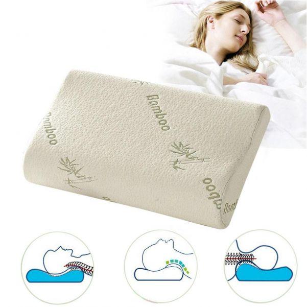 Подушка с эффектом памяти Bamboo, 50х30х10х7 см
