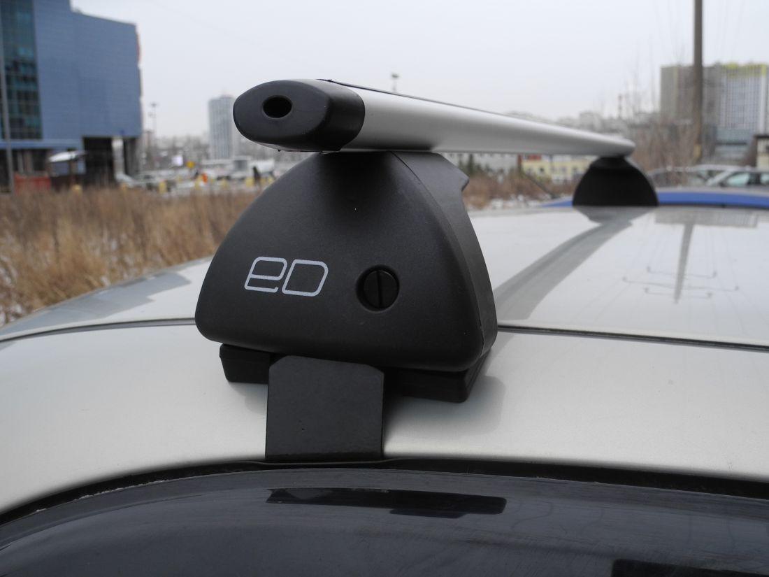 Багажник на крышу Nissan Qashqai 2013-..., Евродеталь, аэродинамические дуги