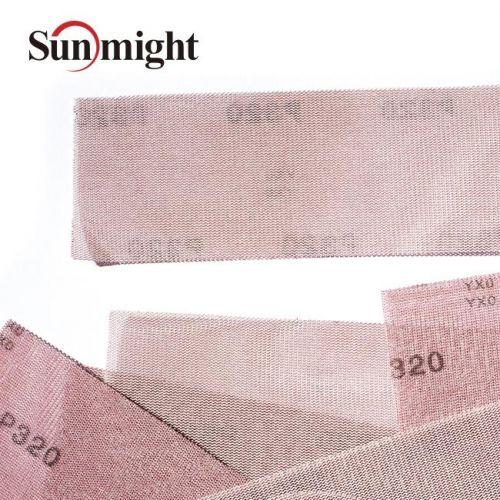 Сетчатый абразив на липучке SUN NET Р240 в полосках 70х420мм