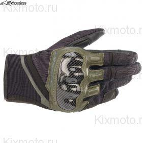 Перчатки Alpinestars Chrome, Черно-зеленые