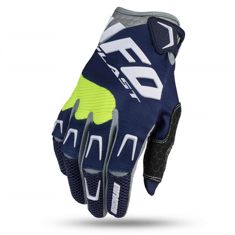 UFO Iridium Glove Blue перчатки для мотокросса, синие