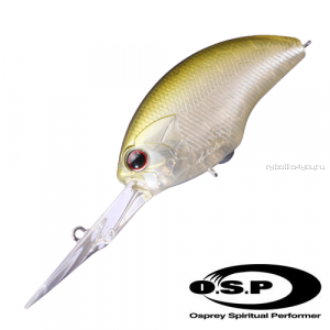 Воблер OSP Blitz EX DR 53 мм / 12 гр / Заглубление: 2 - 4 м / цвет: G01