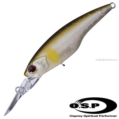 Воблер OSP Highcut 60SP 60 мм / 5,3 гр / Заглубление: 2 - 2,5 м / цвет: G01