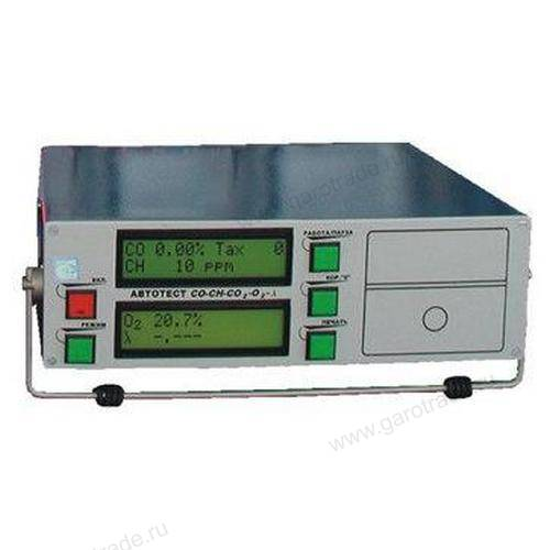 Автотест 02.02 газоанализатор 4-х компонентный (1 класс точности)