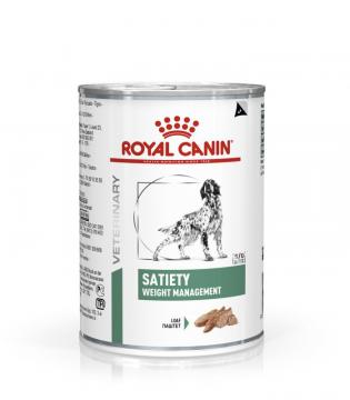 Роял канин Satiety Weight Management для собак (Сетаети вейт менеджмент) паштет 410г.