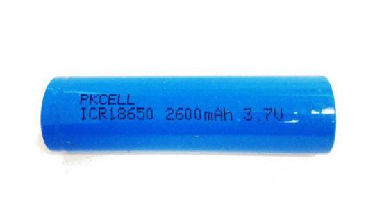 Аккумулятор 18650 PKCELL 2600 mAh 3,7V Li - ion