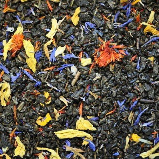 Малахитовая сказка - китайский зеленый чай с натуральными природными ароматизаторами.