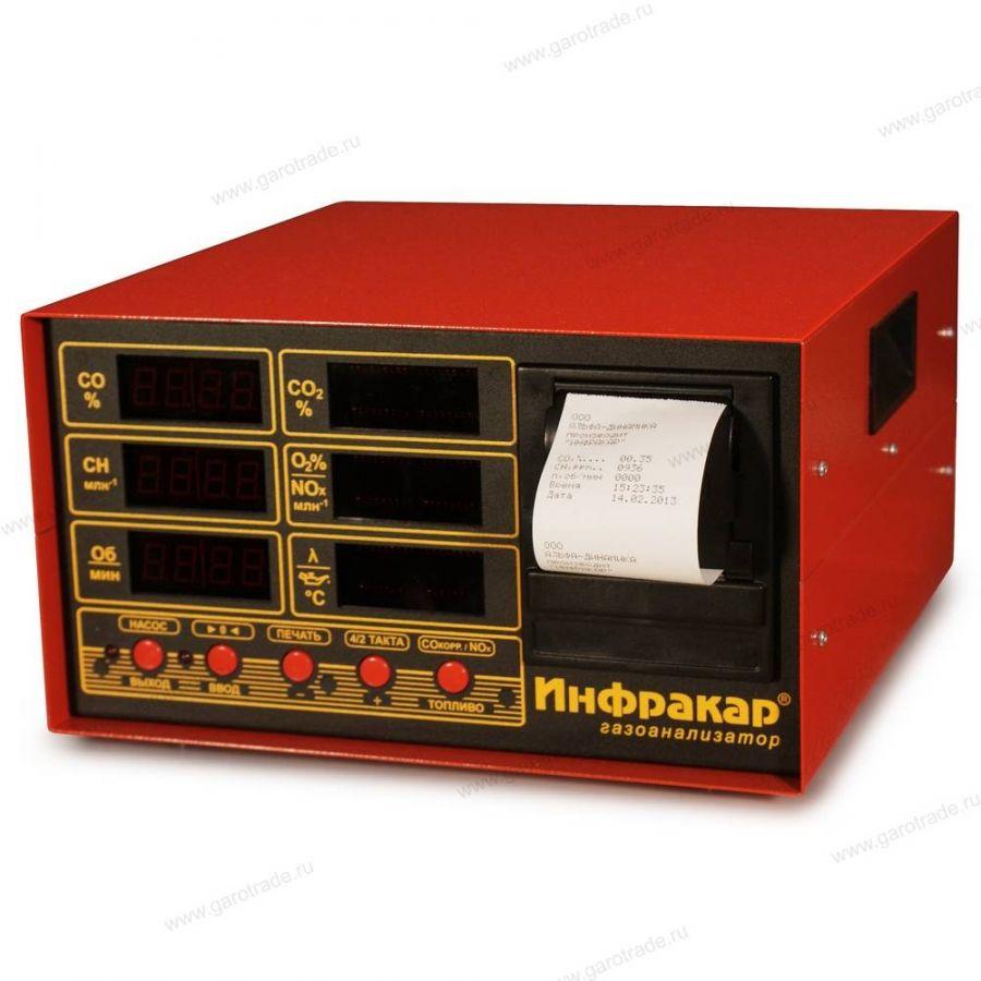 ИНФРАКАР М-2Т.02 газоанализатор 4-х компонентный 2 класс точности