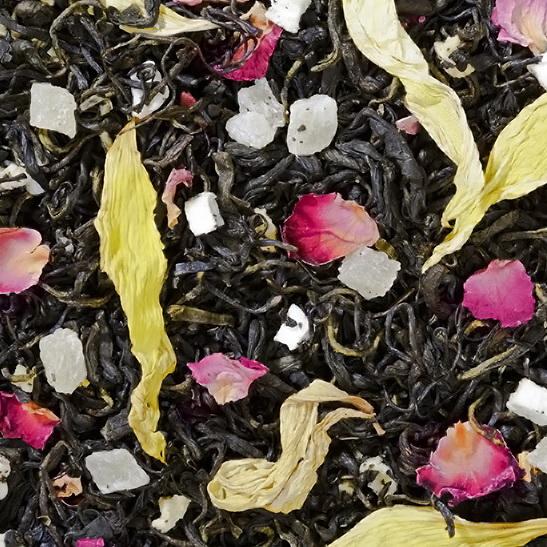 Манго - зеленый чай с натуральными  добавками.