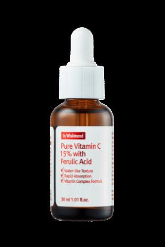Сыворотка с витамином С и феруловой кислотой By Wishtrend Pure Vitamin C 15% with Ferulic Acid