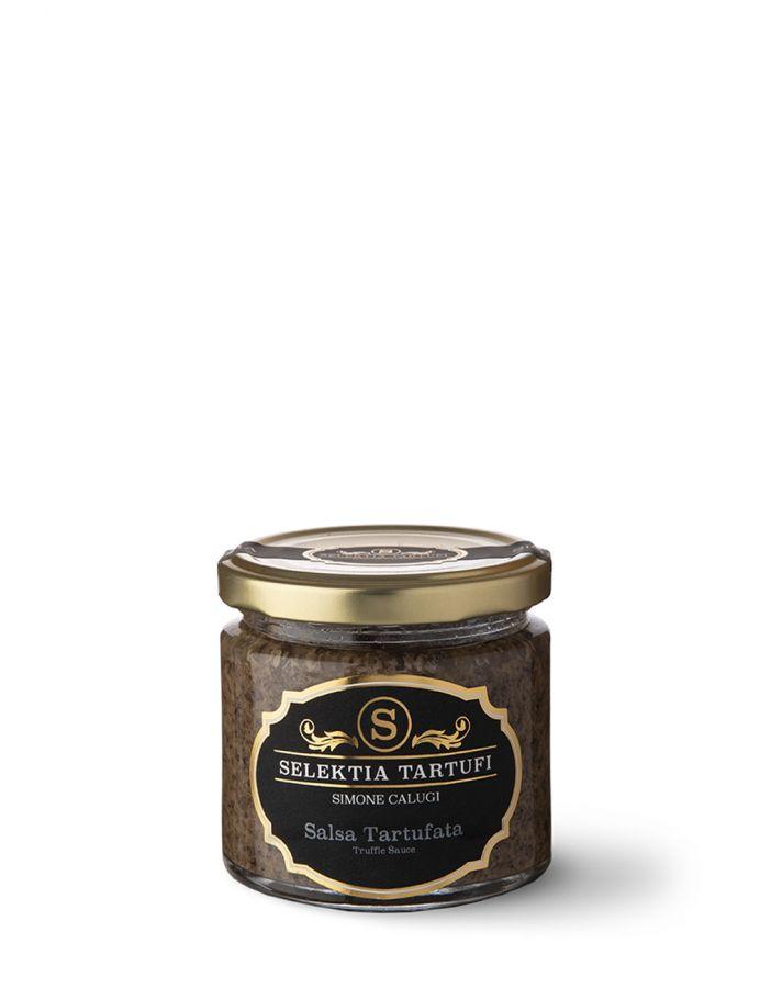 Сальса с белым трюфелем 5% 75 г. Salsa Tartufata bianca 5%, Selektia Tartufi 75 g