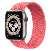 Ремешок Apple Watch Series 6 Pink Punch Braided Solo Loop (для корпуса 44 мм)
