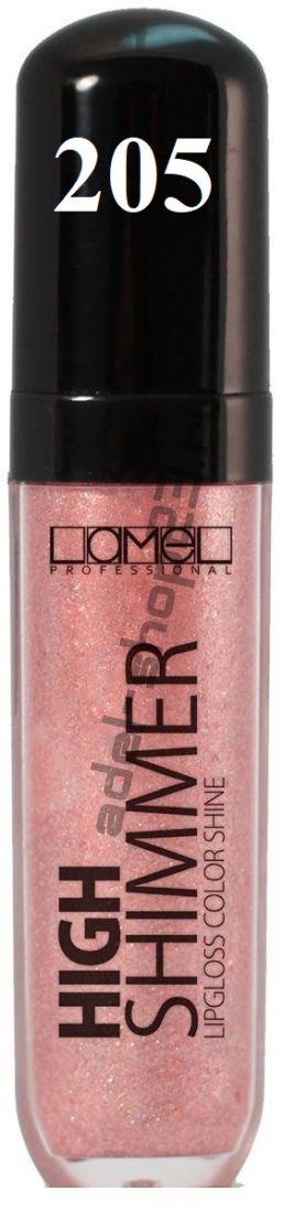 Lamel - Professional Блеск для губ High Shimmer