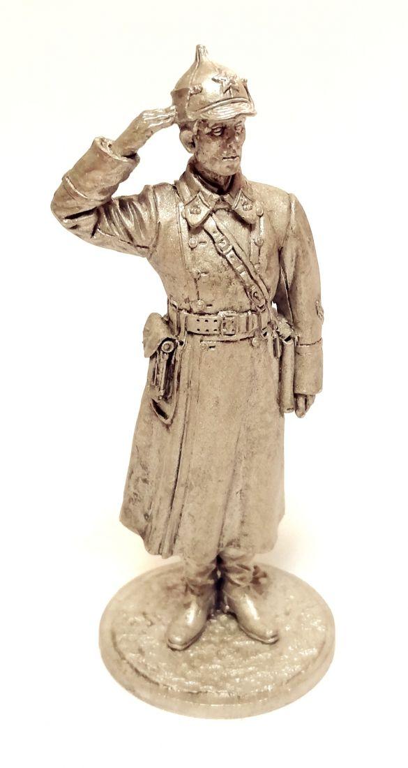 Фигурка Лейтенант пехоты РККА  олово