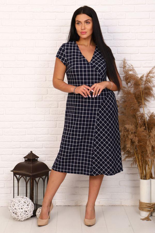 Платье 10391 [синий]