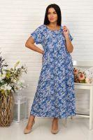 Платье 35001 [синий]
