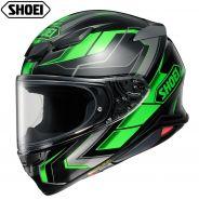 Шлем Shoei NXR2 Prologue TC-1, Черно-зеленый