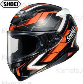 Шлем Shoei NXR2 Prologue TC-1, Черно-оранжевый