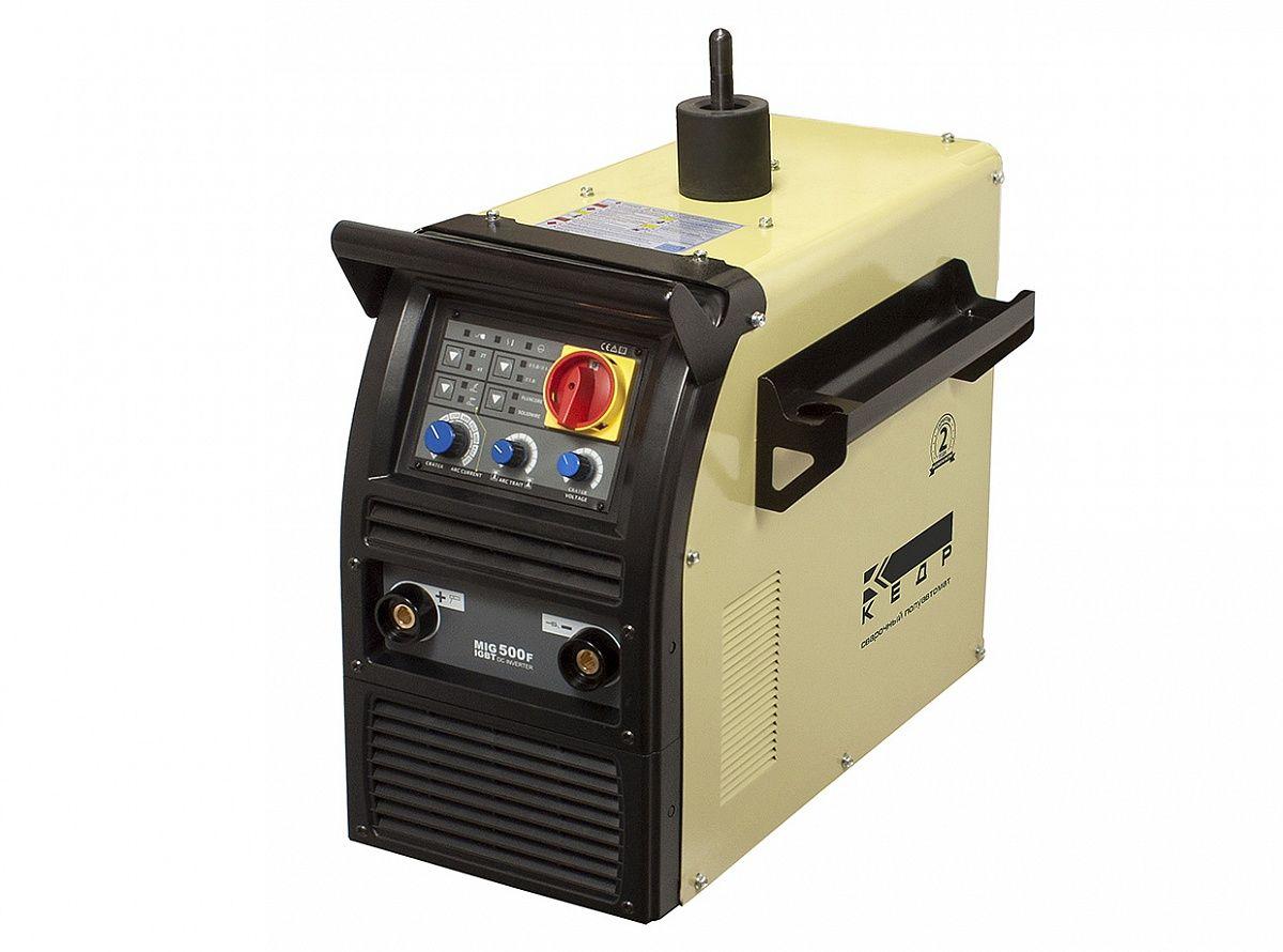 Полуавтомат КЕДР MIG-500F, (Источник, МПП, БЖО, Тележка, к-т кабелей 5м)