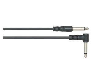 LEEM CM-15 Кабель 4,5 м., джек-джек (угловой), инструментальный