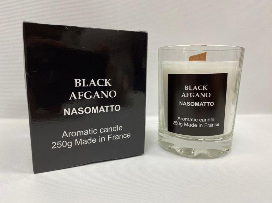 Парфюмерная свеча Nasamatto Black Afgano 250 мл