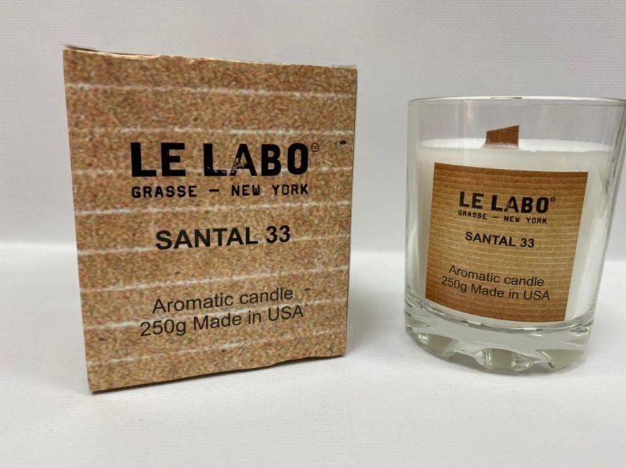 Парфюмерная свеча Le Labo Santal 33 250 мл