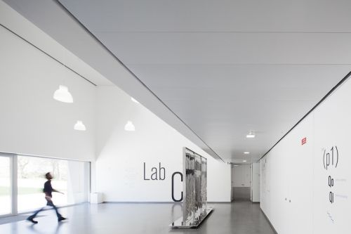 Потолочная плита Orcal Микроперфорация Rd 1522 с флисом 1800x400x33