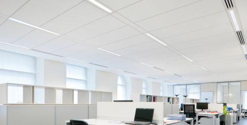 Потолочная плита Orcal Микроперфорация Rd 1522 с фаской 1800x400x33