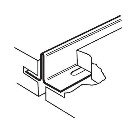 Короткая поперечная рейка 600 мм