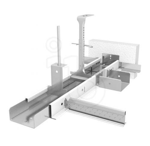 Подвесная система Bandraster 100 мм без прорезей