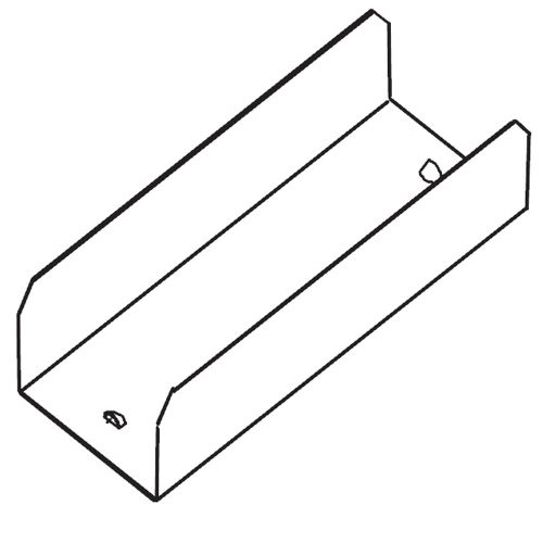 Соединительный элемент для продольных секций 50 мм