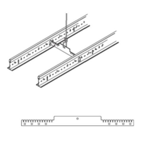 Горизонтальный фиксатор расстояния ARMSTRONG DGS для несущих реек, 406 мм (в коробке 100 шт)
