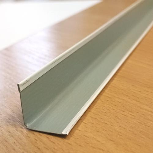 Угловой профиль 19х19, сталь, белый, L=3м