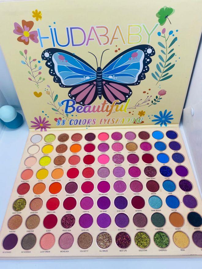 Палетка теней HUDA BABY Beautiful 88 цветов (6550)