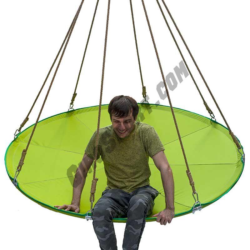 МЕГА-гамак d-180/200см, цвет зеленый