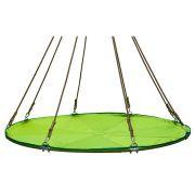 Подвесной мега гамак кровать для дачи зеленый