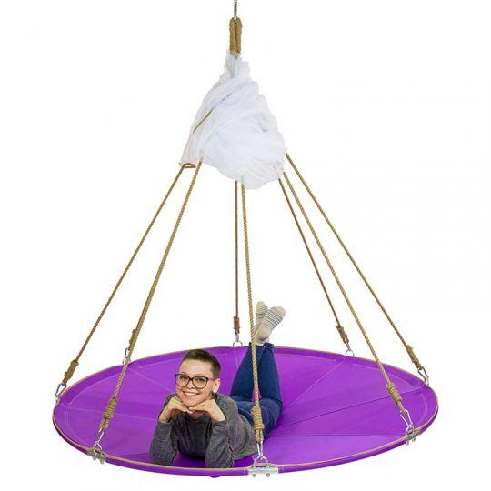 МЕГА-гамак d-180/200см, цвет фиолетовый