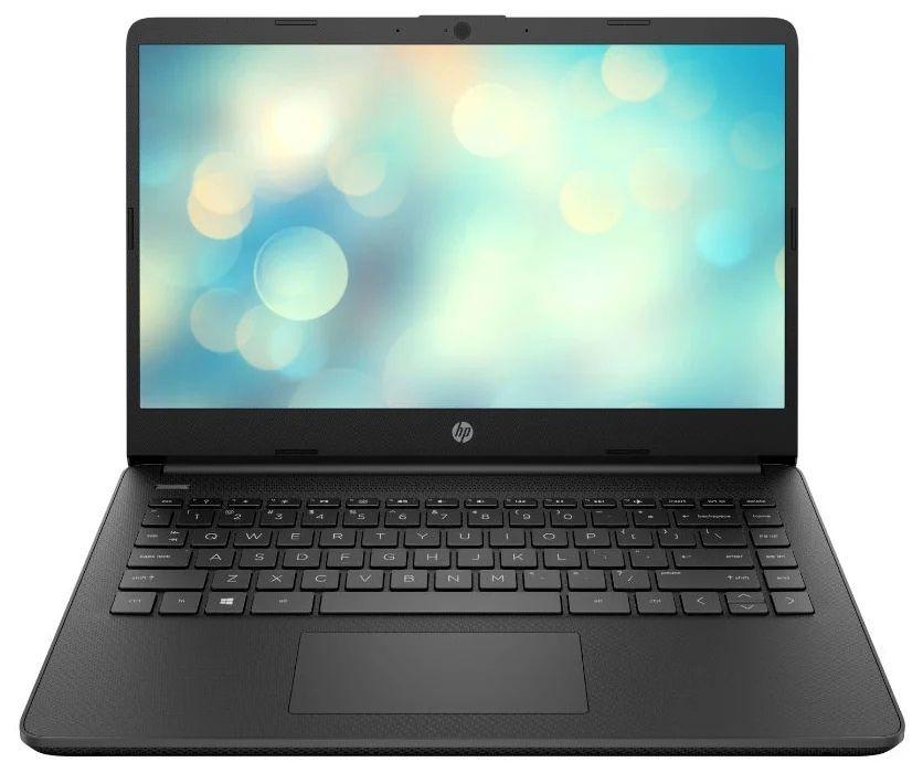 Ноутбук HP 14s-fq0018ur Чёрный (28P47EA)