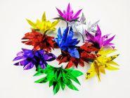 Цветы из ниоткуда - 10 шт (металлизированная бумага)