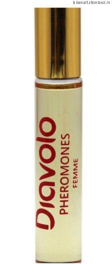 """Ароматное эфирное масло для женщин с феромонами """"Diavolo"""" 1001 Nights, 8мл."""
